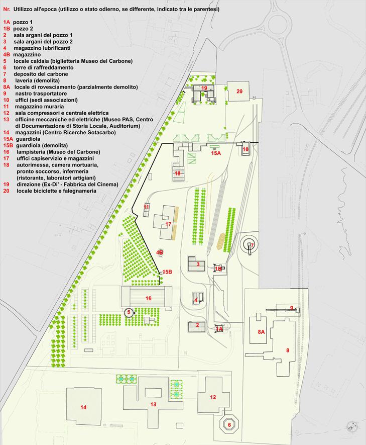 Grande Miniera Serbariu Map